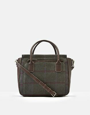 Joules 207382 Everyday Bag in GREEN TWEED in One Size
