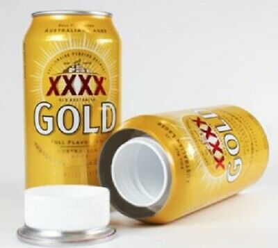 XXXX Gold 4x Stash Can 375ml Soft Drink Diversion Safe Hidden Compartment