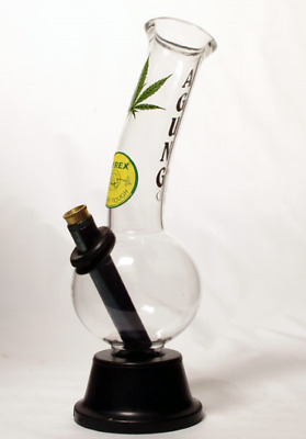 Cheech Leaf  Water Pipe 24cm