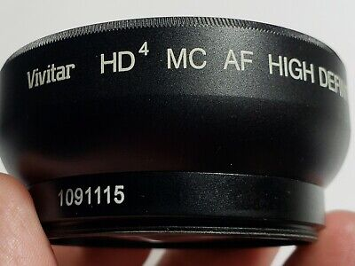 Vivitar HD4 MC AF High Definition  0.43X Wide Angle Converter Macro Japan Optics