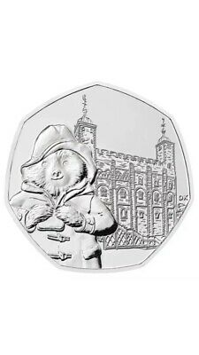 2019 UK Paddington at the Tower of London 50p Coin uncirculated 3x sealed bags