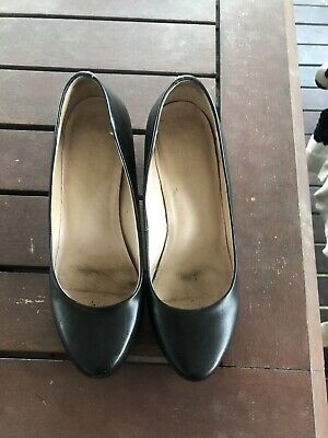 Jo Mercer Shoes Patent Leather Black - Size 6