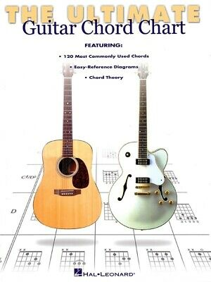 Ultimate Guitar Chord Chart (Softcover Book)