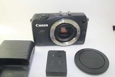 Canon EOS M 18.0MP  Digital Mirrorless Camera Black Body only from Japan [Exc--]