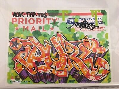 PURE Original Usps Postal Graffiti New York Oldschool Like Seen Revok Wild Style