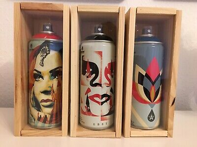 Shepard Fairey Obey Mtn Limited Edition Spraycan Graffiti Street Art