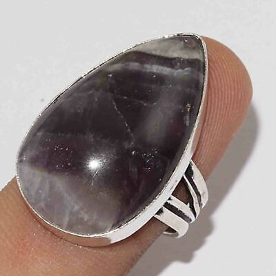 Z11096 Amethyst Lace 925 Silver Plated Ring Us 9