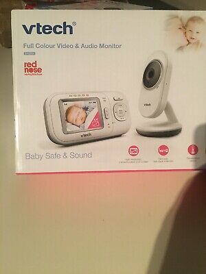 VTech Bm2800 Safe and Sound Video & Audio Baby Monitor