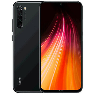 Xiaomi Redmi Note 8 4+64GB Space Black 4G Smartphone Handy Octa Core Global FHD+