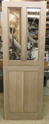 2 Lite Solid Pine Stable Door Solid Timber    Made to Measure