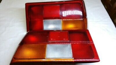 NEW Renault Fuego Tail Lights Pair + Turn Signals Pair Clear