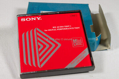 Rare Sony Mini Disc MD Audio Test 1(Check Disc) TGYS-1