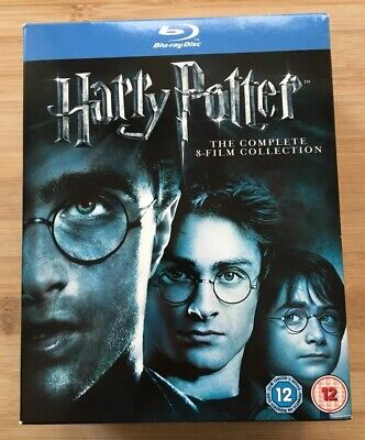 Harry Potter: The Complete 8-Film Collection (Blu-ray, 2011) 11-disc box set