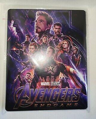 Custom Steelbook Avengers Endgame  Bluray Empty
