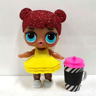 lol surprise doll Big Sister Glitter Red Hair Yelllow Dress Kids Gift