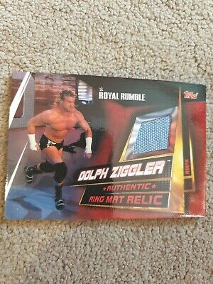 WWE Slam Attax Universe Limited Ring Mat Relic Card Dolph Ziggler Topps NXT