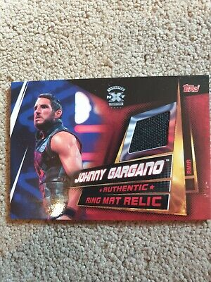 Topps WWE Slam Attax Universe Johnny Gargano Ring Mat Relic Card NXT Takeover