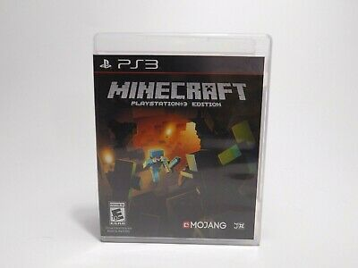 Minecraft -- PlayStation 3 Edition (Sony PlayStation 3, 2014) Complete Game