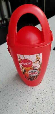 Coca Cola Drinking Flask Rare Edition Collectable, with lanyard never been used