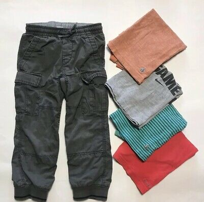 Baby Gap Pants And Tees Size 4t / 4 Plus One Nike Tee