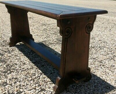 RARE Antique Chinese/Chippendale Style Carved table/railroad style bench? Offers