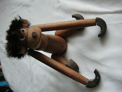 Kay Borjesen Wooden  Monkey with long arms