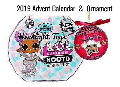1 LOL Surprise Doll 2019 OOTD Advent Calendar Winter Disco Outfit Of The Day OMG