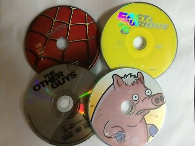 DVD movies - You pick from list. - Disc only.