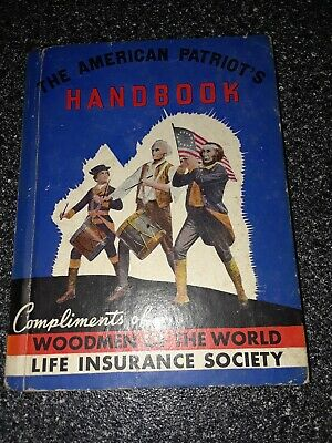 The American Patriot's Handbook  Rand McNally 1936,The  Constitution Etc.