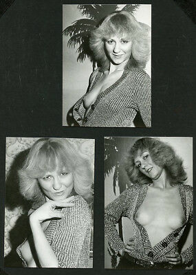 German 3 PHOTOS Partially NUDE Teaser Reveals BREASTS '70s ~ RECENT Arrival st
