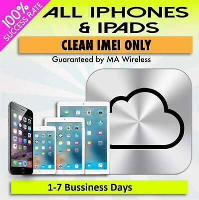 iCloud Lock Service Removal Permanent (Clean Or Lost) iPhone, Iwatch and Ipads