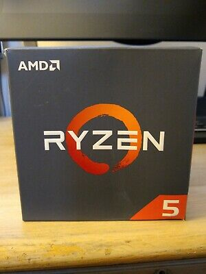 Ryzen 5 2600 - Original Packaging With Stock Wraith Stealth Cooler