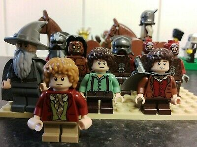 25 LEGO minifigures with lego horses- Lord of the Rings, Luke Skywalker