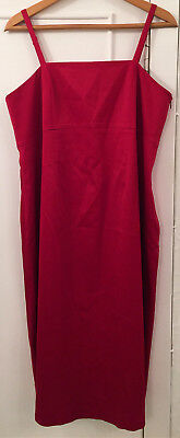 Ladies GAP Red Maternity Evening Dress Size Large - BNWT