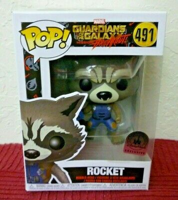 Funko Pop - Marvel - ROCKET #491, Disney Parks Exclusive, Gaurdians Galaxy GOTG