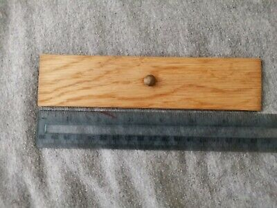 Flat pen holder (wood) for antique/vintage writing slope