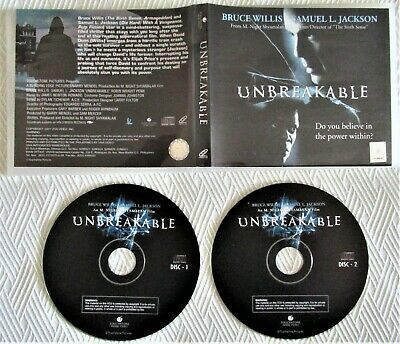 Unbreakable (2000) - TOUCHSTONE FILM MOVIE HOME VIDEO CD (english edition)