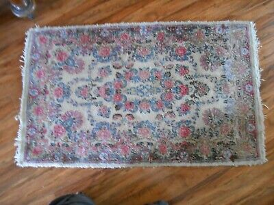 "Antique Middle Eastern Rug  Turkish /  Persian Prayer Rug 36""X22"""