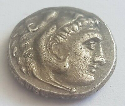 Verry Rare Greec Silver Coin  Drachma Alexander of Macedon 4.31 g.