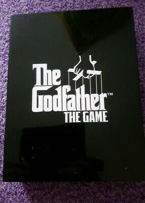 The Godfather PS2 Game Coffin Box Limited Edition Sony PlayStation 2 UK PAL
