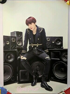 [ On-Hand ] BTS SYS Speak Yourself Japan Poster Official MD [ SUGA ] - Canada