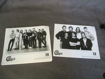 1988 CHICAGO Band GROUP Posed Publicity Photos - LAMM & CHMAPLIN  DEALER LOT  ub