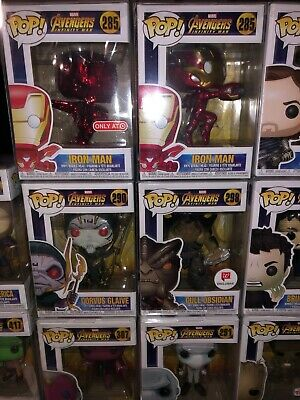 Funko POP lot of AVENGERS 37  Infinity War Lot of rare figures Marvel NEW