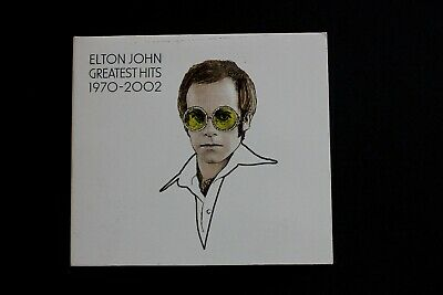 The Greatest Hits 1970-2002 by Elton John (CD, Nov-2002, 2 Discs, Universal)