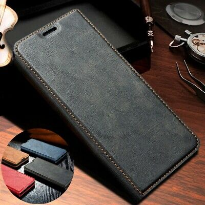 For Samsung Galaxy Note 10 Plus Luxury Flip Leather Card Wallet Stand Case Cover