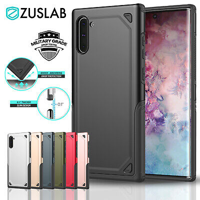 For Samsung Galaxy Note 10 Plus 5G Case ZUSLAB Slim Shockproof Bumper Cover