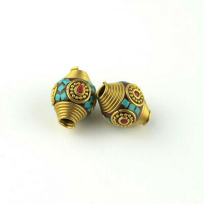 20x16mm Nepal Buddha Loose Beads Diy Jewelry Making Copper Spacer Craft Lots