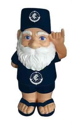 Carlton Blues AFL Hawaiian Style Garden Gnome