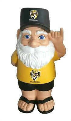 Richmond Tigers AFL Hawaiian Style Garden Gnome