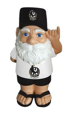 Collingwood Magpies AFL Hawaiian Style Garden Gnome